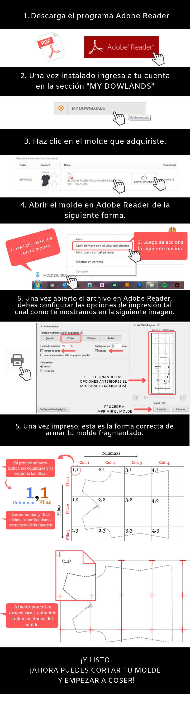 Moldes Unicose - Como Imprimir